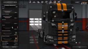 Scania 2016 Painted Front Intake Mod V2