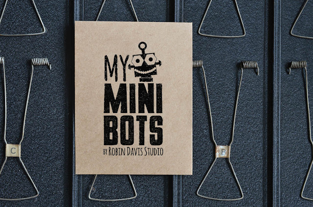 My Minibots by Robin Davis Studio