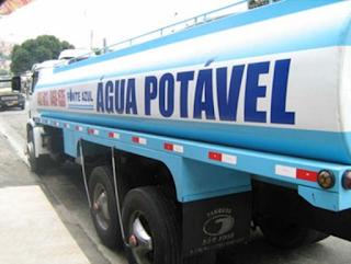 Gevisa orienta população sobre consumo de água de carro-pipa