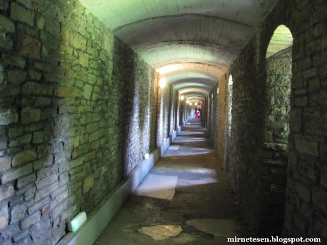 Кардиффский замок - здесь прятались от бомбёжек