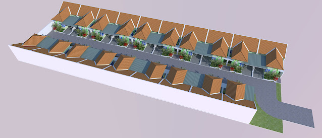 Gambar Site Plan Townhouse