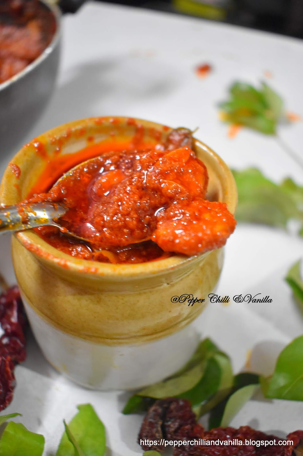 best homemade prawns pickle recipe