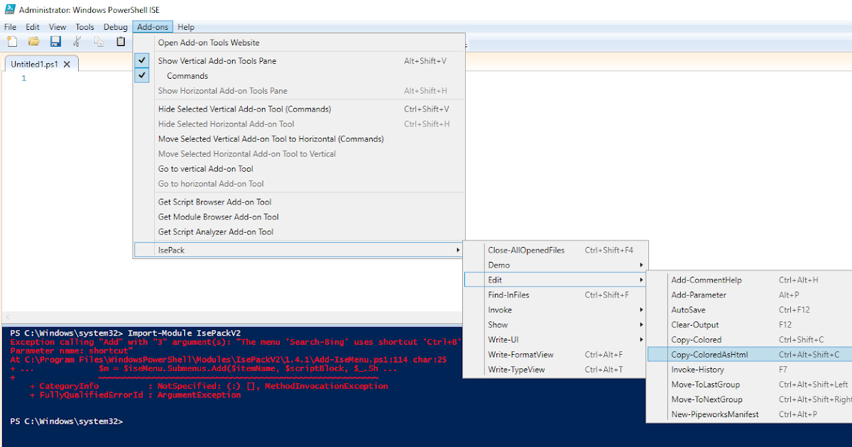 There's a script for that: Add Color coded PowerShell code