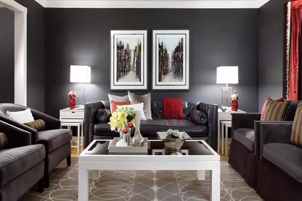 The Right Colors for Best Living Room Designs