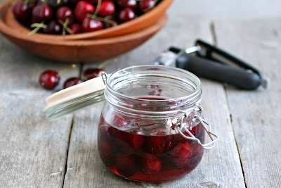 Brandied Cherries