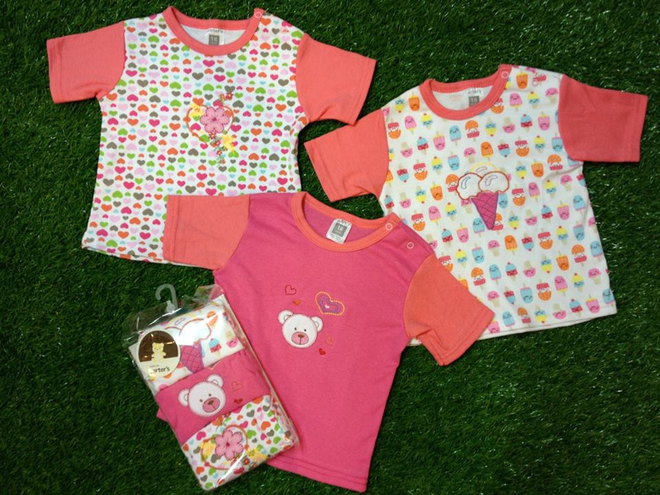 776c8ba8e Wholesale branded baby clothes: Wholesale Carter's cute T-Shirt 3 in ...
