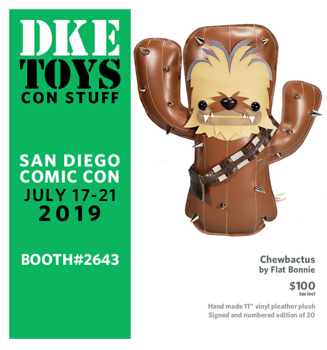 Exclusive Plushies from Flat Bonnie for San Diego Comic Con 2019