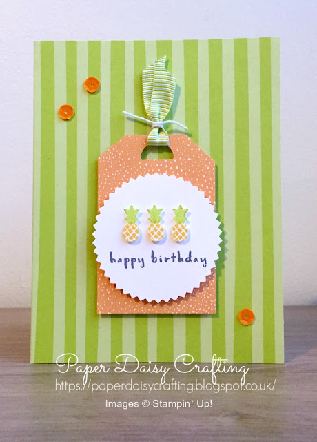 Stampin' Up Tutti Frutti suite