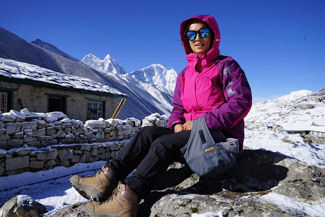 Nepali photojournalist Purnima Shrestha scales Mount Everest