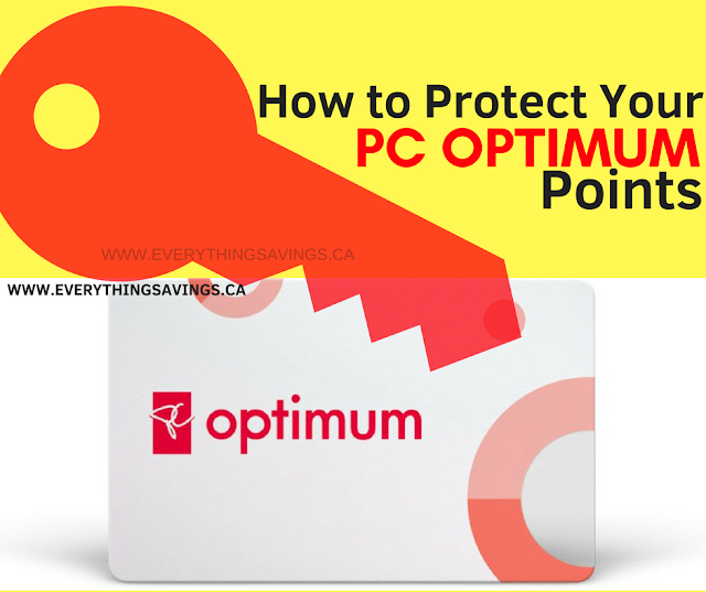 Protect Your PC Optimum Points From Being Stolen