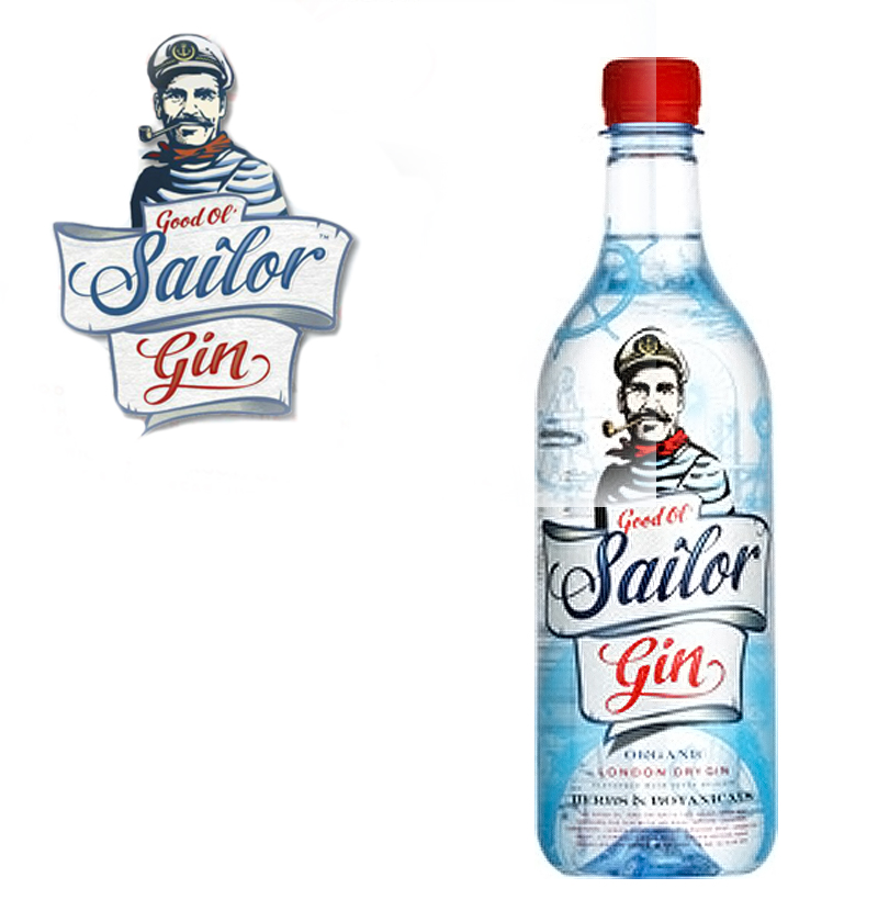 Sailor gin from sweden