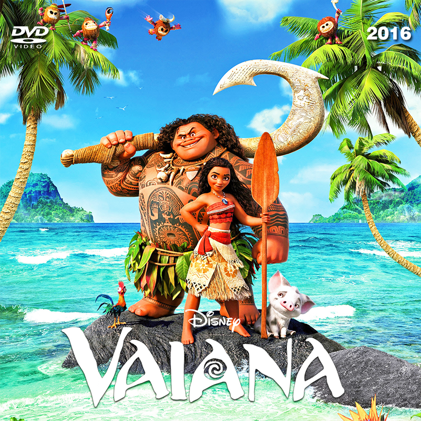 Dvd Vaiana