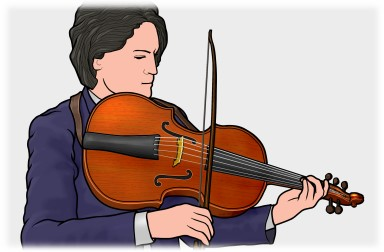 ビオロン チェロ ダ スパッラ(violoncello da spalla)
