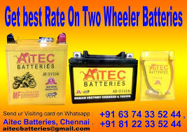 How to Care for Two Wheeler Batteries
