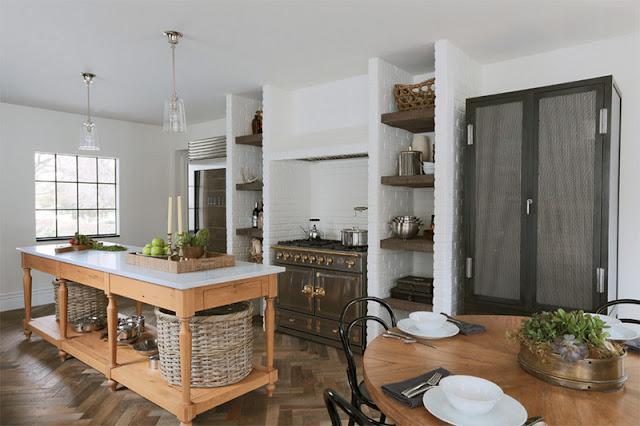 Tổng hợp những mẫu thiết kế nhà bếp tuyệt đẹp với tường trắng