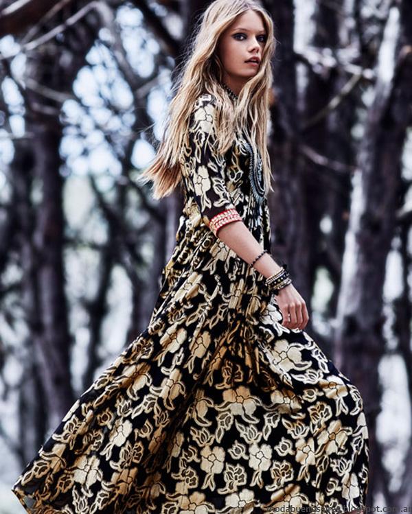 Vestidos otoño invierno 2016 Rapsodia. Moda y Tendencias de moda otoño invierno 2016.