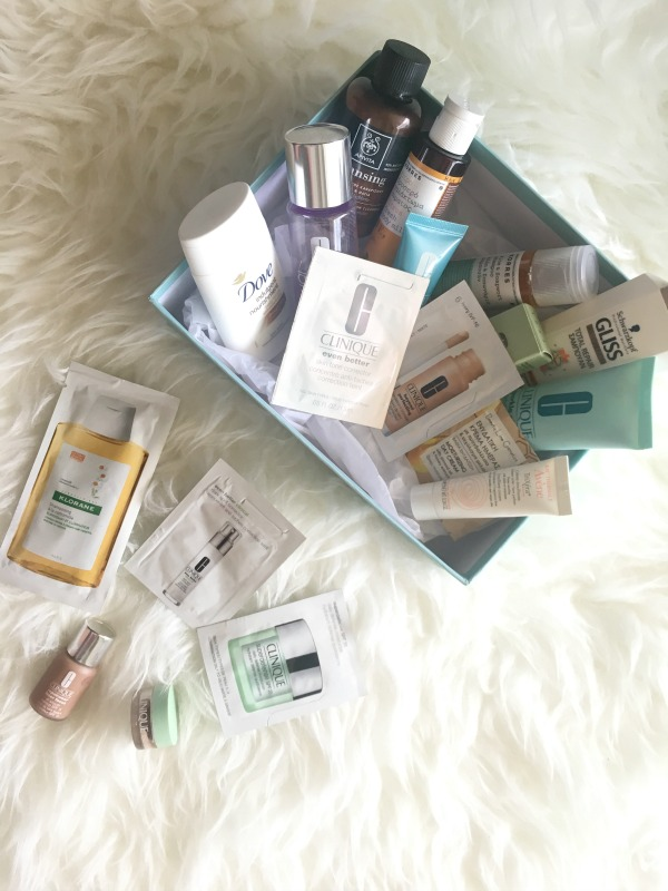 Samples & Travel size beauty // Δείγματα ομορφιάς & προϊόντα σε ταξιδιωτικό μέγεθος - Ioanna's Notebook
