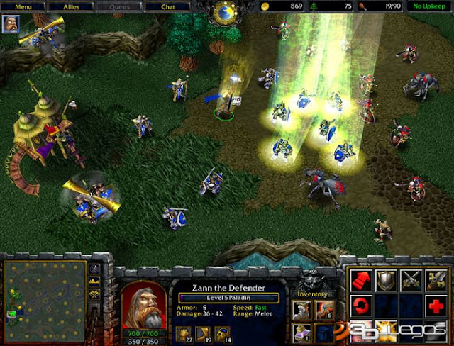 Warcraft III Reign of Chaos Gameplay 1