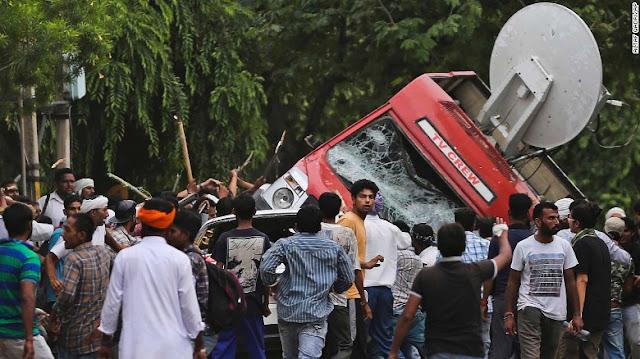 ram rahim clashes