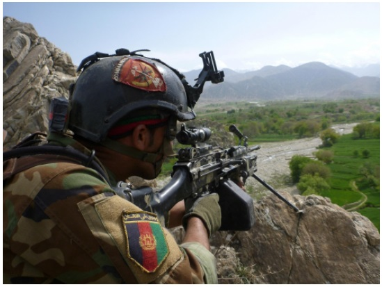Afghan Special Services Force (ASSF) Soldier