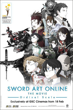 Sinopsis Film Animasi Jepang Sword Art Online: Ordinal Scale (2017)