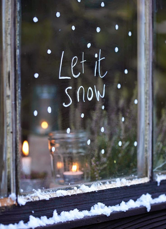 Let it snow via Prima Christmas Makes 2014. Styling by Selina Lake, photo by Sussie Bell
