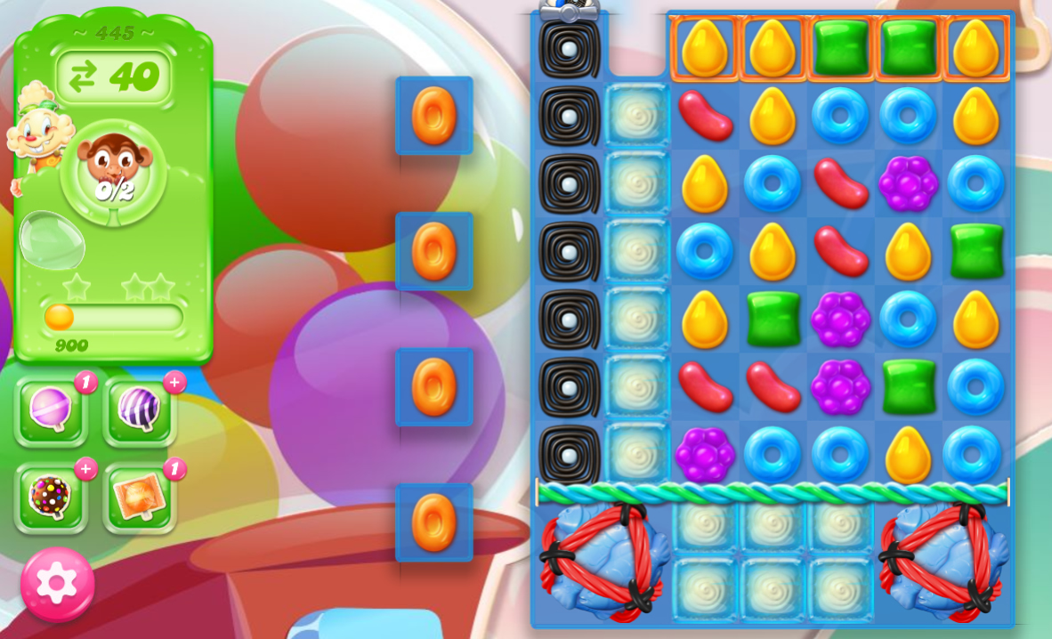 Candy Crush Jelly Saga 445