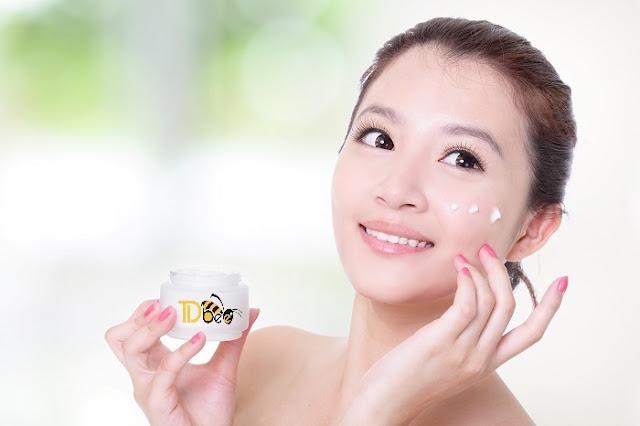cách chăm sóc da mặt bằng sữa ong chúa