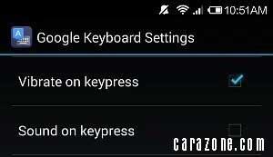 Cara on/off suara keyboard pada Xiaomi Mi 3