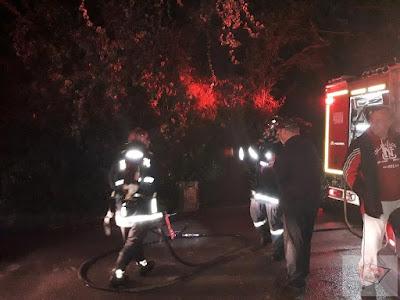 Φωτιά σε μονοκατοικία στο κέντρο της Πρέβεζας