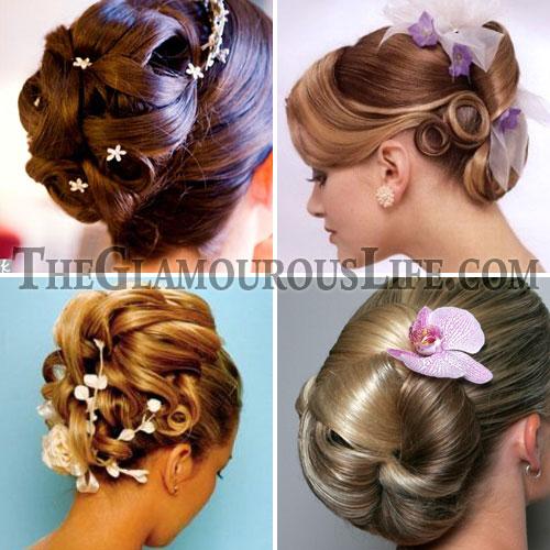 Superb Fashion Celebrity Short Hair Bridal Updos Short Hairstyles Gunalazisus
