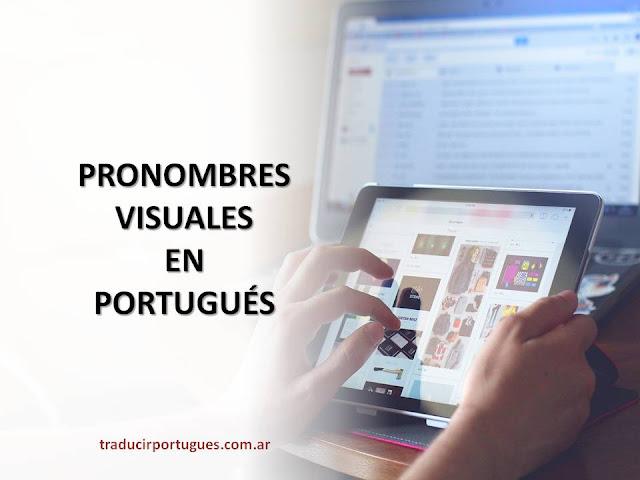 PRONOMBRES, PORTUGUÉS, PRONOMES