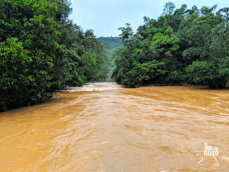 Mookana Mane River, Malnad in full floods