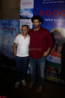 Aditya Roy Kapoor with Star Cast of MOvie Poorna.JPG (4) Red Carpet of Special Screening of Movie Poorna ~ .JPG