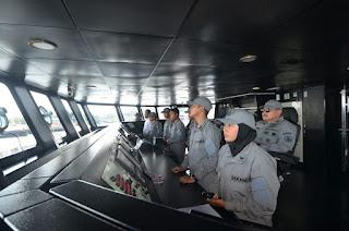 KN Tanjung Datu 301 Berlayar Menuju Port Blair India