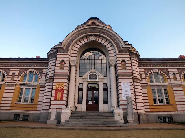 edificios y museos bonitos de Sofia Bulgaria