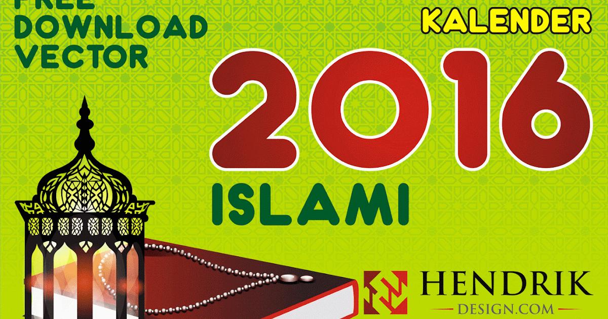 45+ Aksesoris Desain Kalender Islami Cdr, Desain Kalender