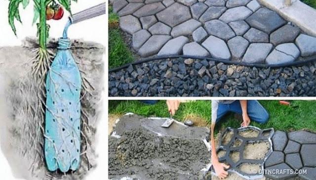 13 Υπέροχες Ιδέες για να Φτιάξετε τον Κήπο των Ονείρων σας. Η 12η θα σας Πάρει το Μυαλό!