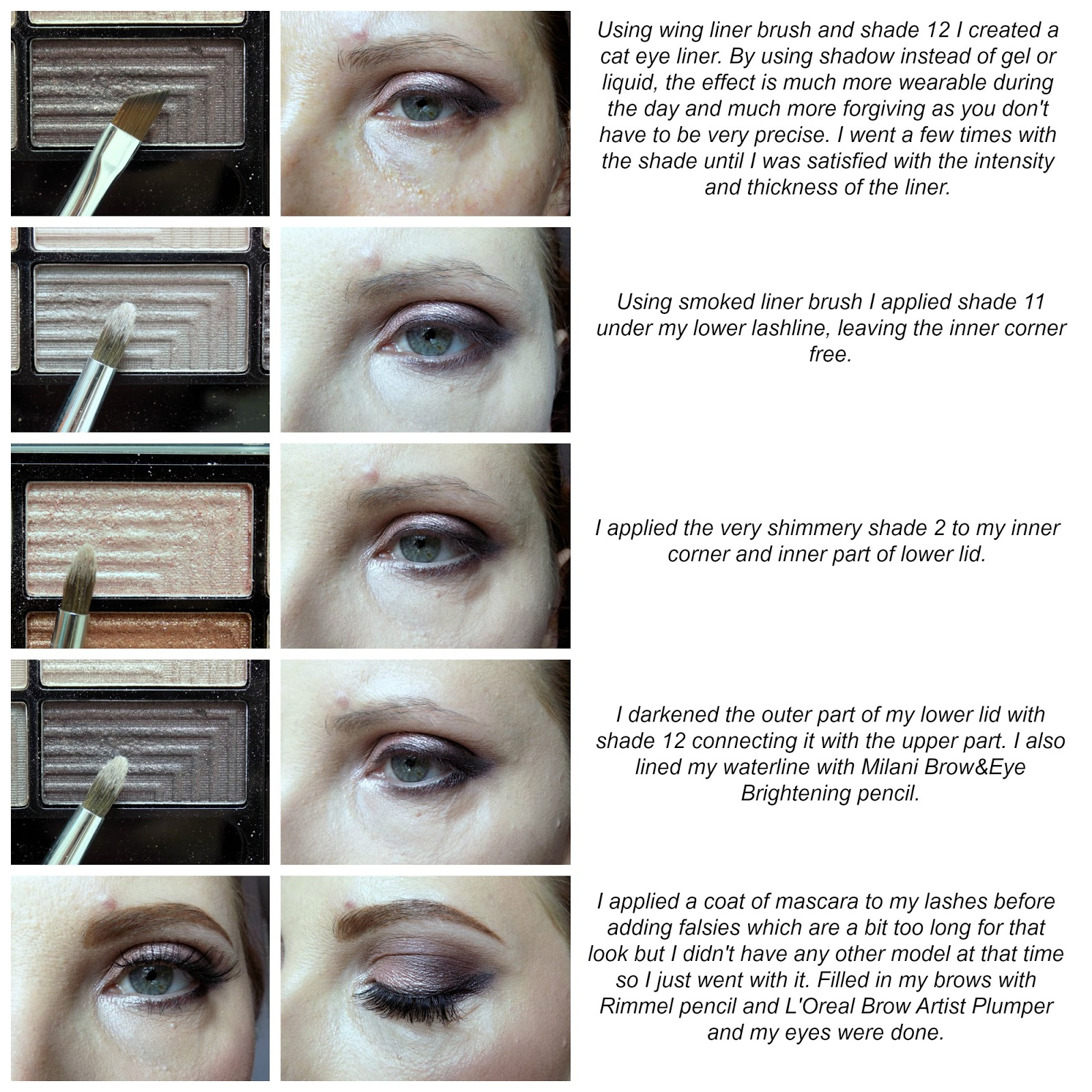 freedom makeup audaciou 3 palette eye makeup tutorial
