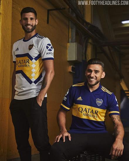 Adidas Boca Juniors 2020 Home & Away Kits Released - No More ...