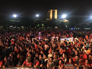 Edsa rally, Pro Du30 rally, the power of we