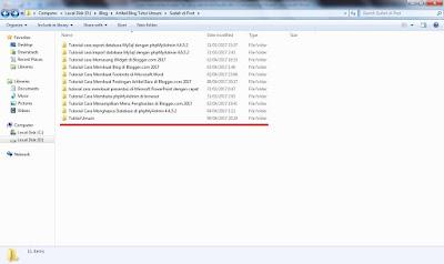Menyembunyikan File Atau Folder Di Windows 7