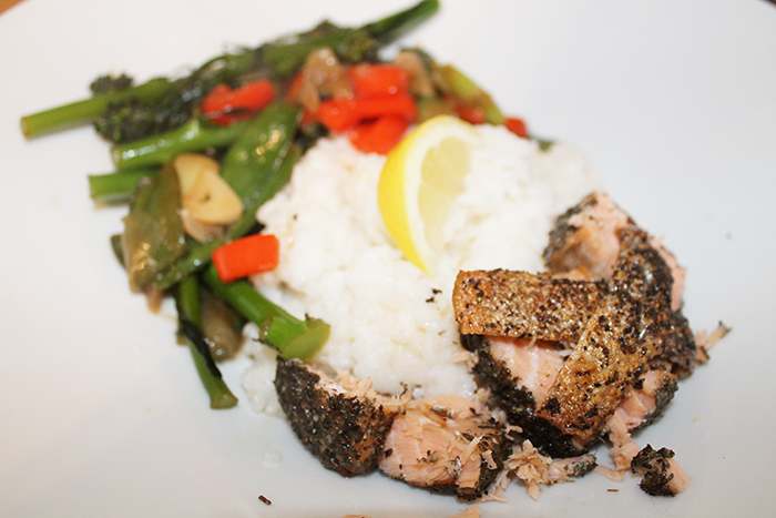 Simply Green Tea Salmon