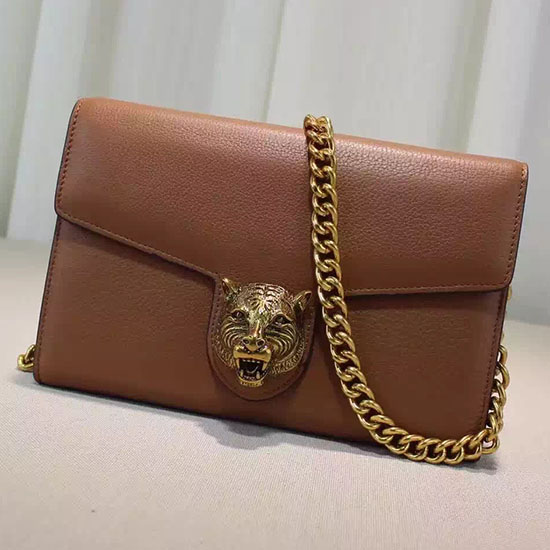 f08c41b23490c1 Gucci Animalier Leather Chain Purse 414984 | Real Gucci Tote Bags