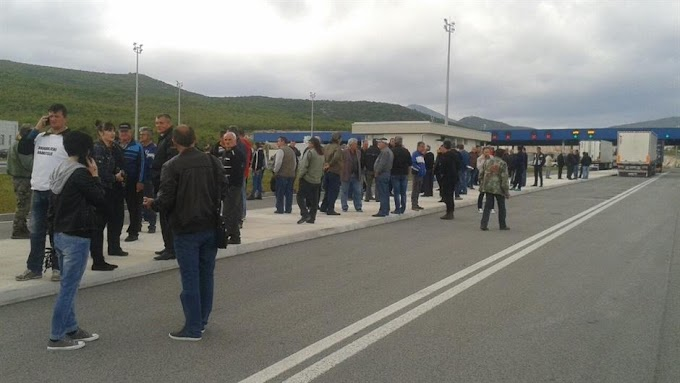 Završena blokada GP Bijača