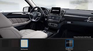 Nội thất Mercedes AMG GLS 63 4MATIC 2019 màu Vàng Porcelain 535