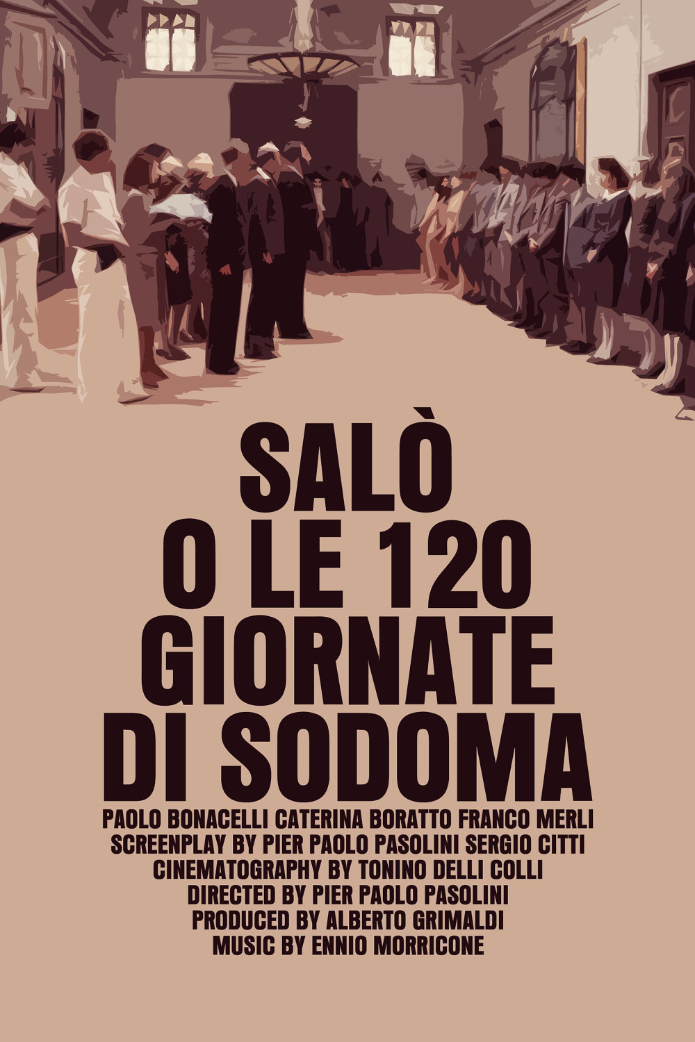 Salò, or the 120 Days of Sodom 1976 - Full (HD)