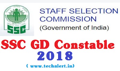SSC GD Constable 2018