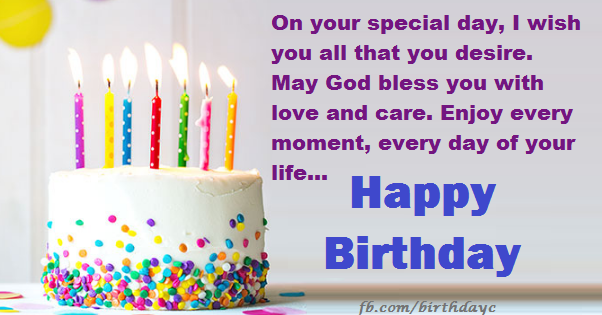 Birthday picture greeting messages