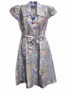 Tren Model Batik Korea Dress Pendek 2018